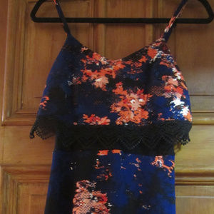 blue coral MATERIAL GIRL BRAND NEW